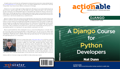 Actionable Django Cover